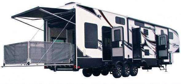 Toyhauler rv the rving lifestyle for Motor home toy haulers