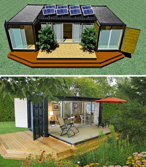 Shipping container home the rving lifestyle - Storage containers as homes ...
