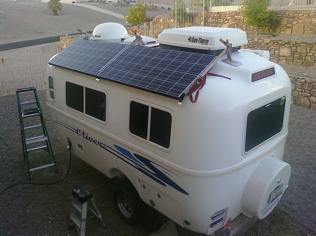 Solar Panel The Rving Lifestyle