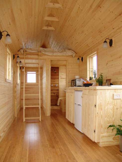 Living large in a tiny home the rving lifestyle - Tumbleweed tiny house interior ...